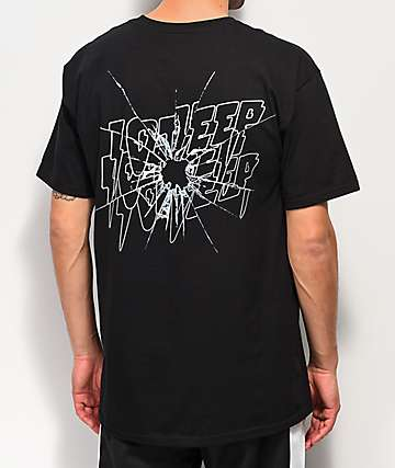 10 Deep Ricochet Black T-Shirt