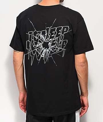 10 Deep Ricochet camiseta negra