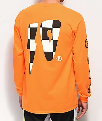 10 Deep Strikes Orange Long Sleeve T-Shirt
