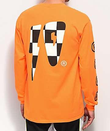 10 Deep Strikes camiseta naranja de manga larga