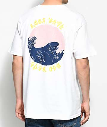 10 Deep Waves White T-Shirt