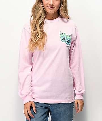 180TIDE Turtle Soda Pink Long Sleeve T-Shirt