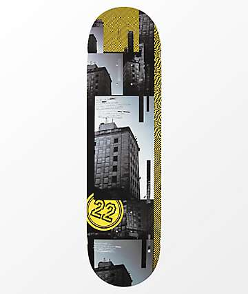 """22 Board Co. Atrocity 8.38"""" Skateboard Deck"""
