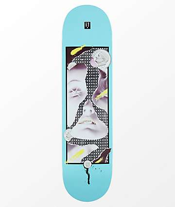 "22 Board Co. Dime 8.0"" Blue Skateboard Deck"