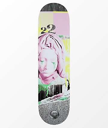 """22 Board Co. Red War 8.12"""" tabla de skate"""