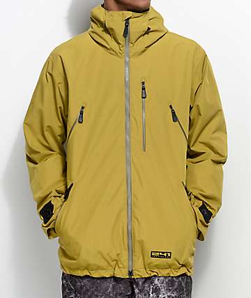 241 Clothing Survivor Olive 10K Snowboard Jacket