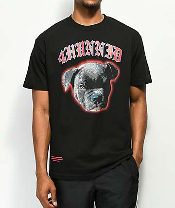 4 Hunnid Blue Nose Black T-Shirt
