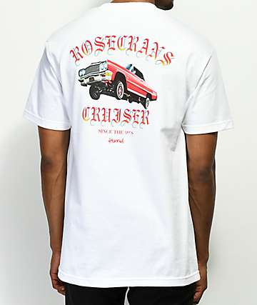 4 Hunnid Cruiser White T-Shirt