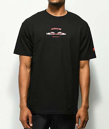 4 Hunnid Low Lows Black T-Shirt
