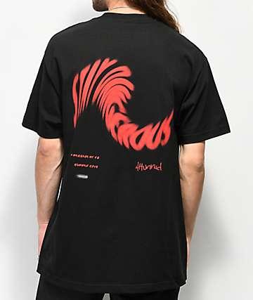 4 Hunnid Stay Dangerous Twist Black T-Shirt