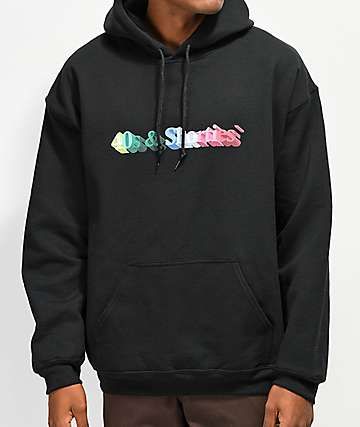 40s & Shorties 3D Logo Black Hoodie
