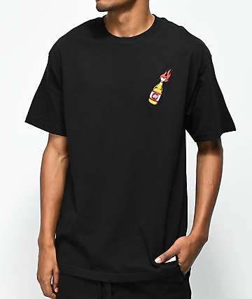 40s & Shorties 40 Oz. Molotov Black T-Shirt