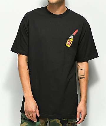 40s & Shorties Bottle Rocket camiseta negra