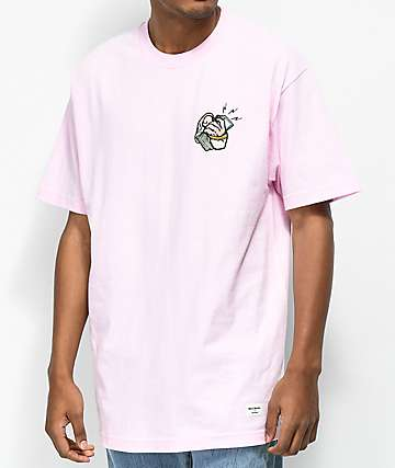 40s & Shorties Cash Phone camiseta rosa
