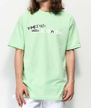 40s & Shorties Farties & Sharties Teal T-Shirt