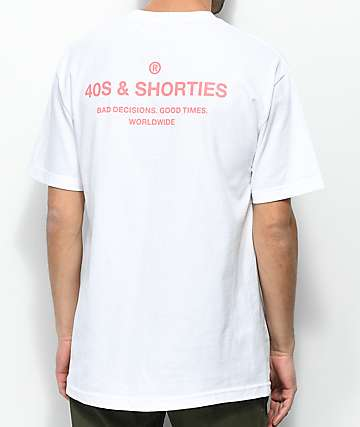 40s & Shorties General camiseta blanca
