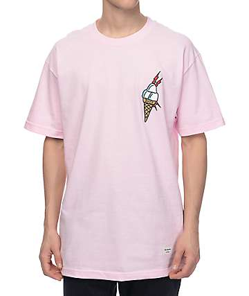 40s & Shorties Ice Cream Pink T-Shirt