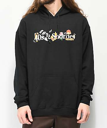40s & Shorties Life G Rated Black Hoodie