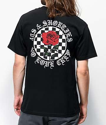 40s & Shorties No Love Black T-Shirt