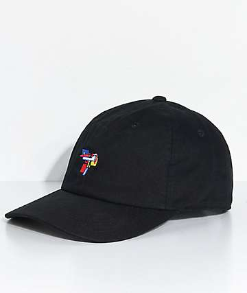 40s & Shorties Pop Gun Black Strapback Hat