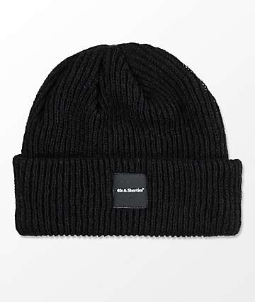 40s & Shorties Premium Logo Black Beanie
