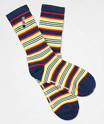 40s & Shorties Sundown Crew Socks