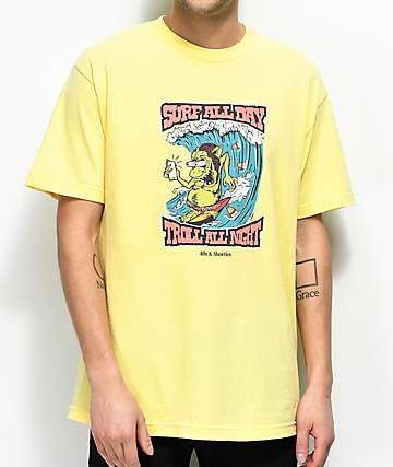 40s & Shorties Troll Yellow T-Shirt