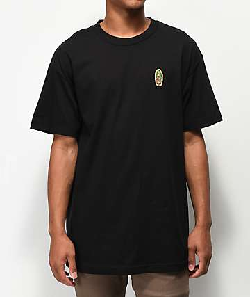 40s & Shorties Virgin Mary Black T-Shirt