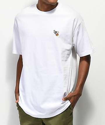 40s & Shorties camiseta blanca