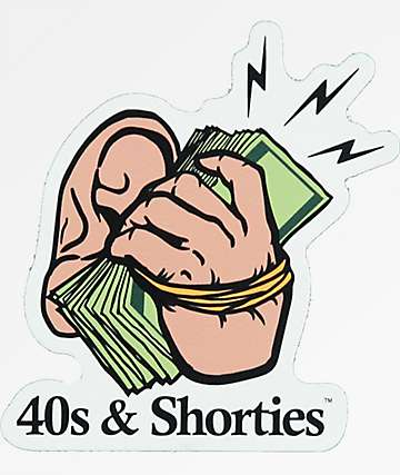 40s & Shorties Money pegatina
