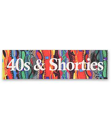 40s and Shorties pegatina de barra Cosby