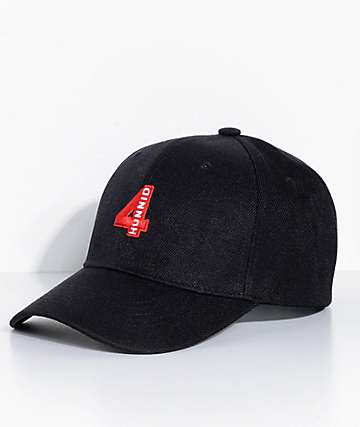 4Hunnid Black Baseball Hat