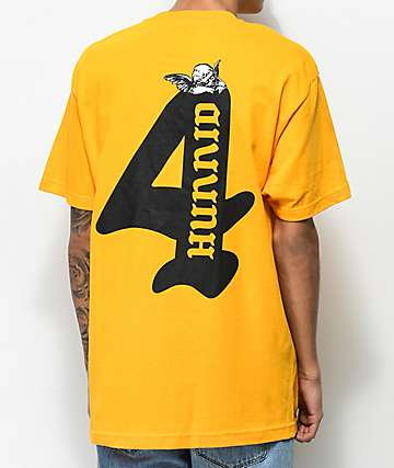 4Hunnid Cupid Gold T-Shirt