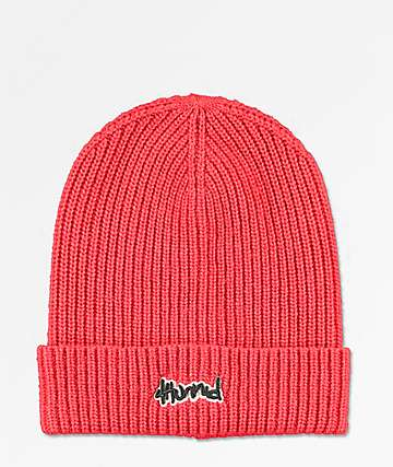 4Hunnid Slouch Red Beanie