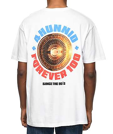 4Hunnid Spoke White T-Shirt