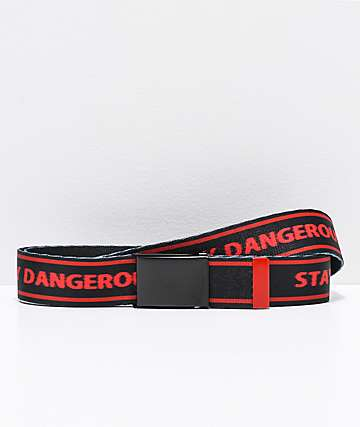 4Hunnid Stay Dangerous Web Belt