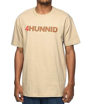 4Hunnid Title Khaki T-Shirt