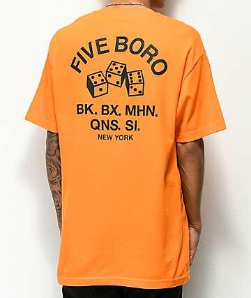 5Boro 4-5-6 Dice camiseta naranja