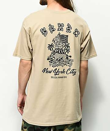 5Boro Hawaii Division Sand T-Shirt