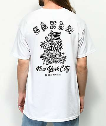 5Boro Hawaii Division White T-Shirt