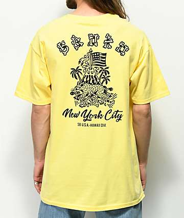 5Boro Hawaii Division Yellow T-Shirt