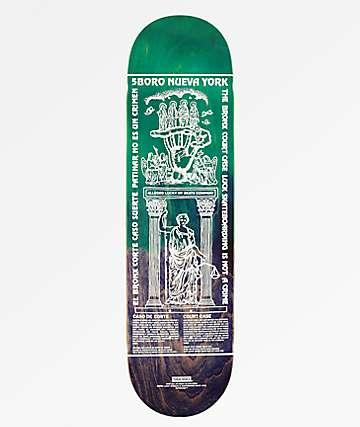 """5Boro Lucky Bronx 8.37"""" Skateboard Deck"""