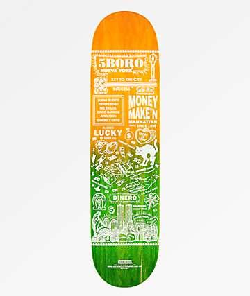 """5Boro Lucky Manhattan 7.75"""" tabla de skate"""