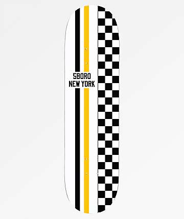 "5Boro Race Stripes 8.0"" Skateboard Deck"