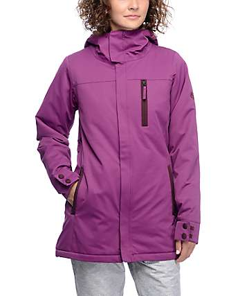 686 Authentic Eden Mulberry 10K Snowboard Jacket