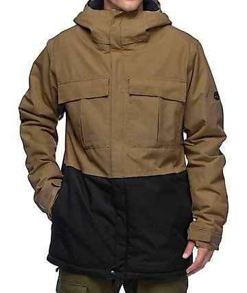 686 Authentic Moniker Khaki 10K Snowboard Jacket