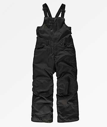 686 Boys Sierra Black 10K Snowboard Bib Pants