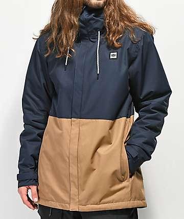 686 Foundation 5K chaqueta de snowboard azul marino