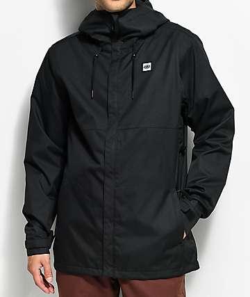 686 Foundation Black 5K Snowboard Jacket