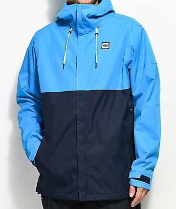 686 Foundation Bluebird Colorblock 5K Snowboard Jacket